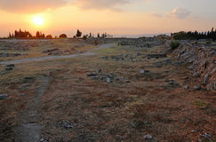 Hierapolis Sunset Stock Images