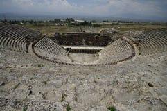 hierapolis teatru indyk Zdjęcia Royalty Free