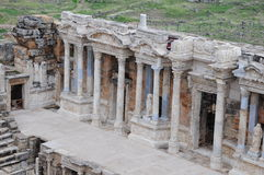 Hierapolis theater, Pamukkale, Denizli Stock Photo