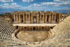 Hierapolis, theater Royalty Free Stock Image