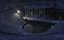 Hierapolis Theatre Royalty Free Stock Images