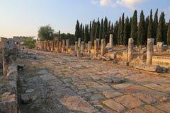 Hierapolis Thoroughfare Stock Photo