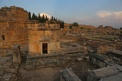 Hierapolis Tomb and Gate Stock Images