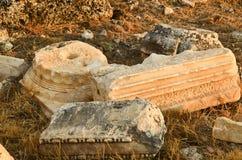 Hierapolis Turkey stock photo