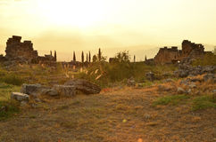 Hierapolis Turkey Royalty Free Stock Photography