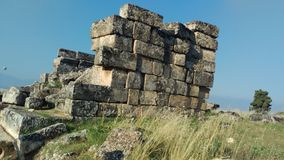 Hierapolis in Turkey, my favorite place Royalty Free Stock Images