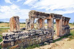 Hierapolis in Turkey. Pamukkale Royalty Free Stock Photography