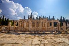 Hierapolis in Turkey Royalty Free Stock Photos