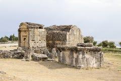 Hierapolis Turkiet Arkivbild