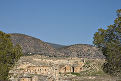 Hierapolis, Turquie Photo stock