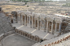 Hierapolisruïnes Stock Afbeelding