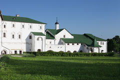 Hierarchal chambers in Suzdal, Russia Royalty Free Stock Photography