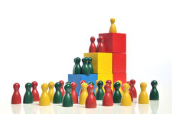 Hierarchie Stockfoto