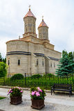 3 Hierarchs Church - Iasi Romania Europe. Built in 1637-1639, financed by Moldavian king Vasile Lupu the monastery is situated in. The heart of Iasi on Stefan Stock Photography