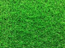 Hierba artificial verde, disposición del espacio de la copia foto de archivo