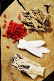 Hierba china mezclada Fotografía de archivo