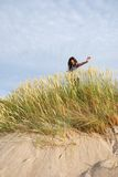 Hierba de las dunas Foto de archivo libre de regalías