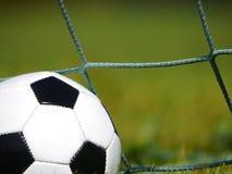 Hierba del fútbol del fútbol Foto de archivo libre de regalías