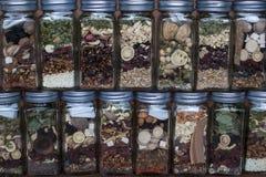 Hierba medicinal china Fotos de archivo libres de regalías