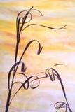 Hierba seca Imagen de archivo libre de regalías