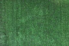 Hierba verde artificial Foto de archivo libre de regalías