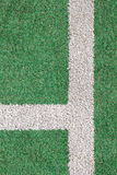 Hierba verde y tira del blanco fotografía de archivo libre de regalías
