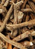 Hierbas orientales de la medicina Imagen de archivo libre de regalías