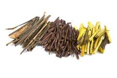 Hierbas y raíces médicas secas Imagen de archivo libre de regalías