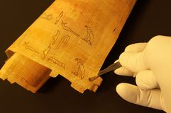 Hieróglifos egípcios Fotos de Stock Royalty Free