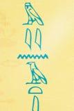 hieroglif Obrazy Stock