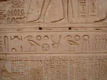 hieroglify Obraz Stock