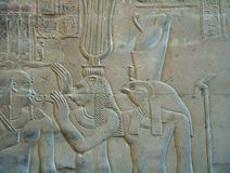 hieroglify Obrazy Stock