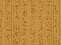 Hierogliphic scripts. 2D illustration of Hieroglyphic scripts royalty free illustration