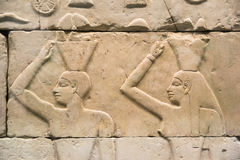 Hieroglyfer Arkivfoton