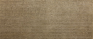 Hieroglyph background Royalty Free Stock Image