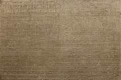 Hieroglyph background Royalty Free Stock Photos