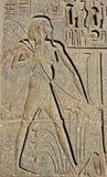 Hieroglyph de um fazendeiro imagens de stock royalty free