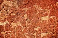 Hieroglyph. Texture Stock Photography