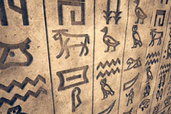 Hieroglyph. Stock Photography