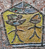 Hieroglyphe Stockfotografie