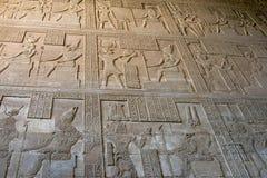 Hieroglyphen stockbilder