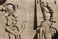 hieroglyphic fotografia stock