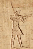 hieroglyphic royalty-vrije stock fotografie
