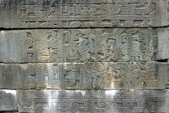 Hieroglyphic at Tajin Royalty Free Stock Photos