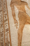 Hieroglyphics - близкое поднимающее вверх Стоковые Фотографии RF