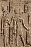 Hieroglyphics stock photos