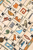 Hieroglyphics Stock Image