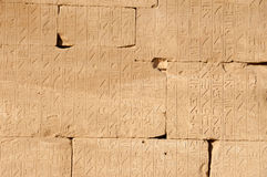 Hieroglyphics Stock Images