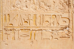 Hieroglyphics Immagine Stock