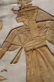 Hieroglyphics - близкое поднимающее вверх Стоковые Фото